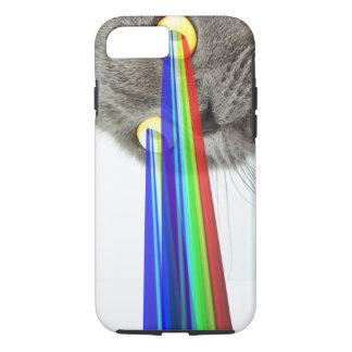 Cat Rainbow Eyes iPhone 7 Case