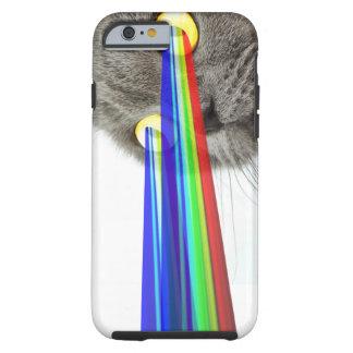 Cat Rainbow Eyes Tough iPhone 6 Case