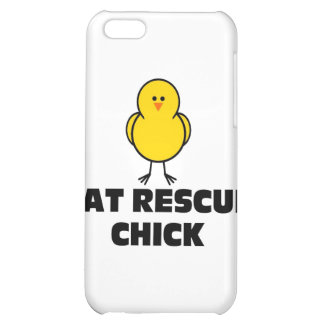 Cat Rescue Chick iPhone 5C Cover