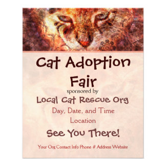 Cat Rescue Event Flyer