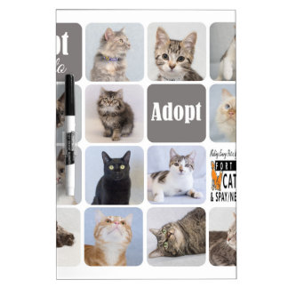 Cat Rescue Fort Collins Cat Rescue Dry-Erase Board