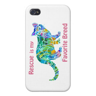 Cat Rescue iPhone Covers and Skins