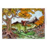 Cat Rides a Dinosaur Cards