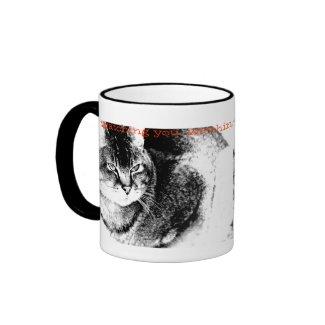 Cat Ringer Mug mug