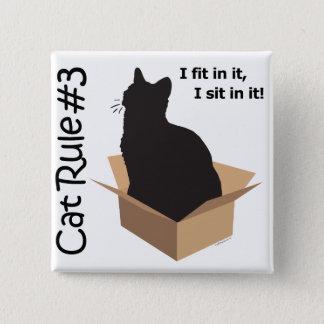Cat Rule #3 Buttons