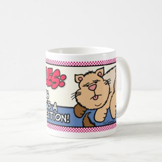 Cat Rules: Ignoring Someone... Coffee Mug