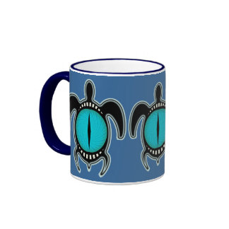 Cat s Eye Turtle Mugs