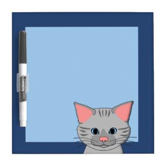 Cat`s head dry erase board