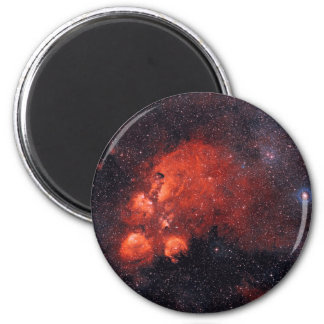 Cat's Paw Nebula NGC 6334 2 Inch Round Magnet