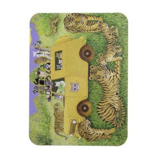 Cat Safari Magnet