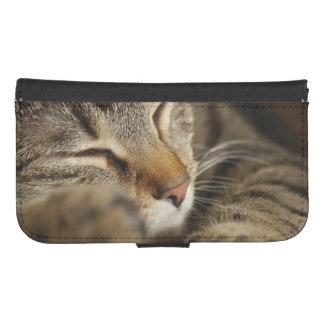 cat samsung s4 wallet case