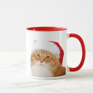 Cat Santa Claus Mug