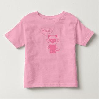 Cat Says Meow Toddler T-shirt