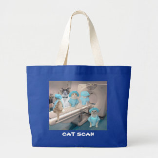CAT SCAN tote bag for nurse.