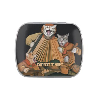 Cat Scout Treats and Noms Tin Jelly Belly Tins