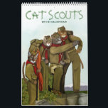 "Cat Scouts 2018 Cute Camping Cats Calendar<br><div class=""desc"">Cats are hungry to learn cat scoutcraft because they realize they've gotten soft. The eat gourmet meals from cans, sleep in heated cat cups, and have humans to scoop their poop. The spirit of their wild ancestors barely flickers within them and feline world domination remains a pipe dream. But through...</div>"