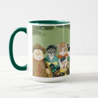 Cat Scouts Coffee or Cocoa Mug