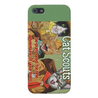 Cat Scouts of America iPhone case