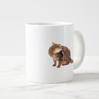 Cat Scratch Fever Giant Coffee Mug