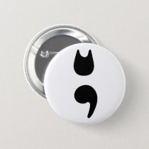 Cat Semicolon Button