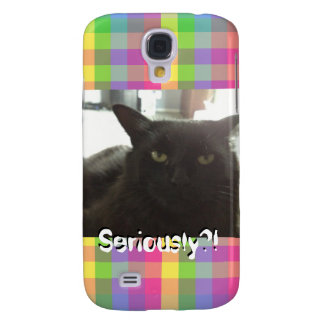 """Cat """"Seriously?!"""" Mimi Phone Case"""