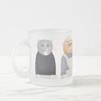 Cat Servant Ladies Frosted Mug