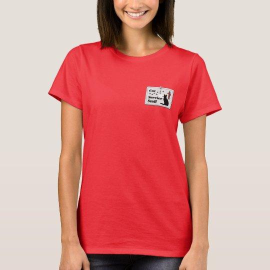 Cat Service Staff T-Shirt