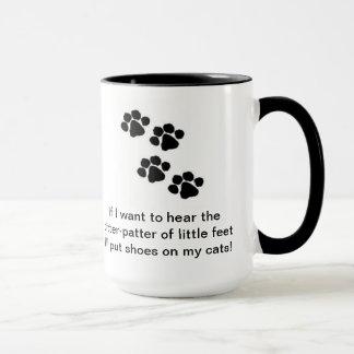 Cat Shoes Mug