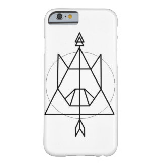 Cat Sigil Geometric Design Barely There iPhone 6 Case