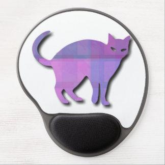 Cat Silhouette Gel Mousepad