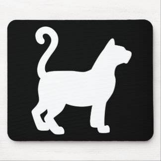 Cat Silhouette Mousepads