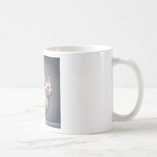CAT SIN PELO TAZAS DE CAFÉ