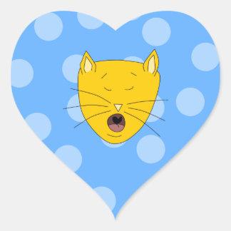 Cat Singing Sticker