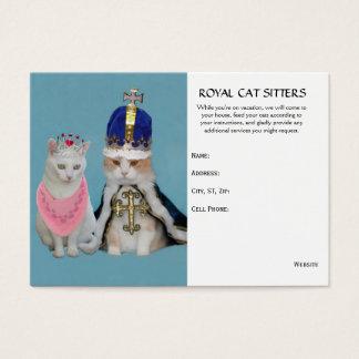 Cat Sitter Business Card