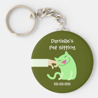 Cat Sitter's Keyring Key Chain
