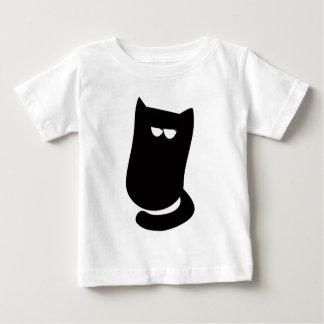 Cat Sitting Bundle Black Satisfied Smug Eyes T Shirt