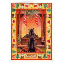 Cat Christmas Cards A Range Of Delightful Xmas Cards Featuring Cats Of All