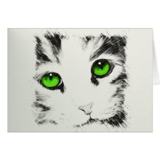 Cat Sketch Greeting Cards