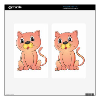 cat skin for kindle fire