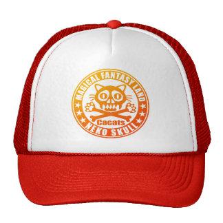Cat Skull Trucker Hat