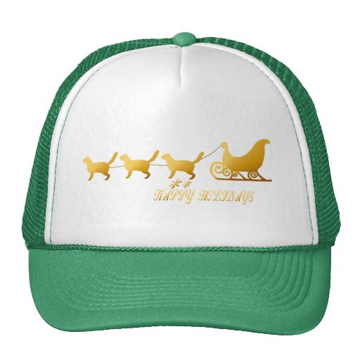 *Cat Sled Hat