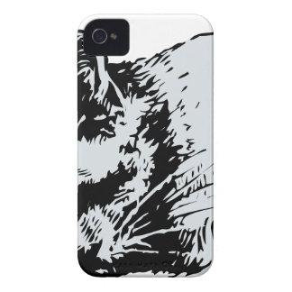 cat sleep iPhone 4 case