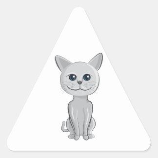 cat smiling sticker
