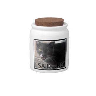 Cat snack/treat Jar Candy Jars