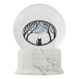 Cat Snow Globe Personalized Cat Lover Snow Globe