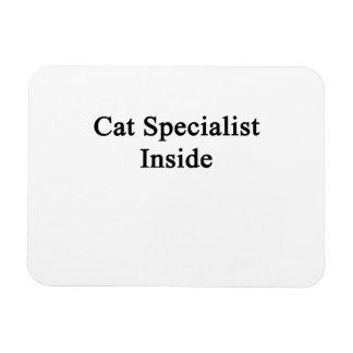 Cat Specialist Inside Rectangular Photo Magnet