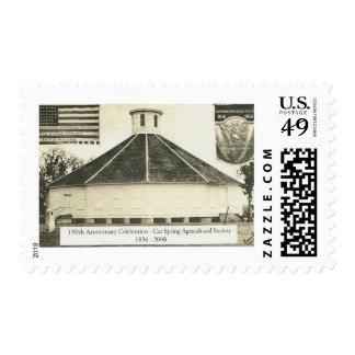 Cat Spring Hall Postage Stamp