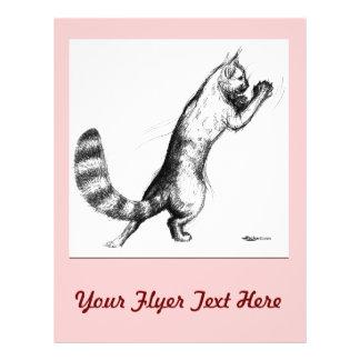 Cat Springing2 Flyer