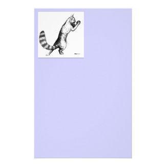 Cat Springing2 Stationery
