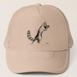 Cat Springing2 Trucker Hat
